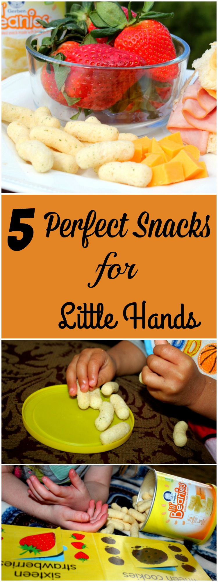 5 Perfect Snacks for Lil Hands