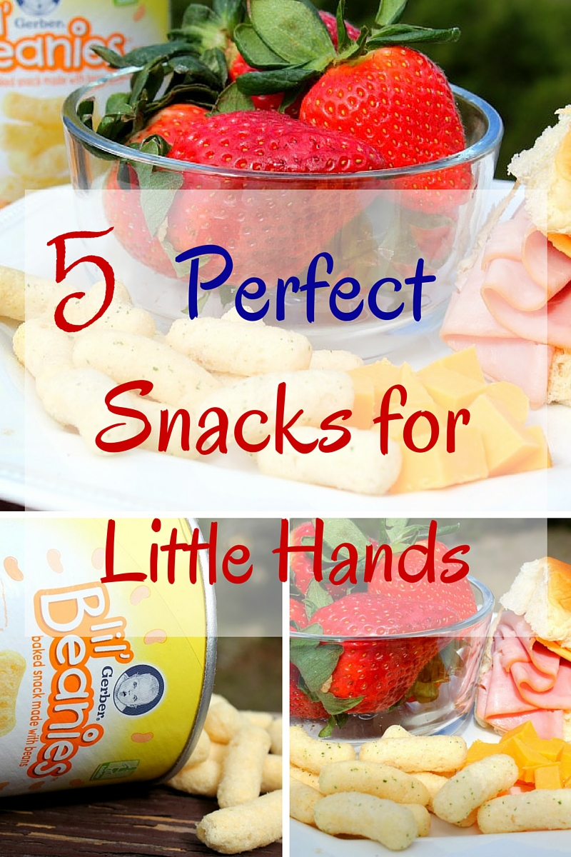 5 Perfect Snacks for Little Hands