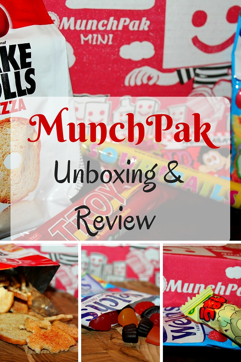 MunchPak Mini Unboxing & Review