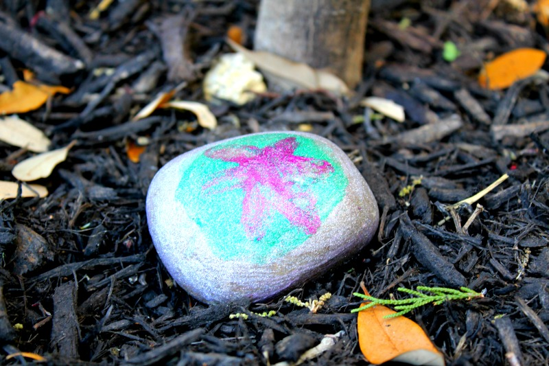 Rock Painting Star