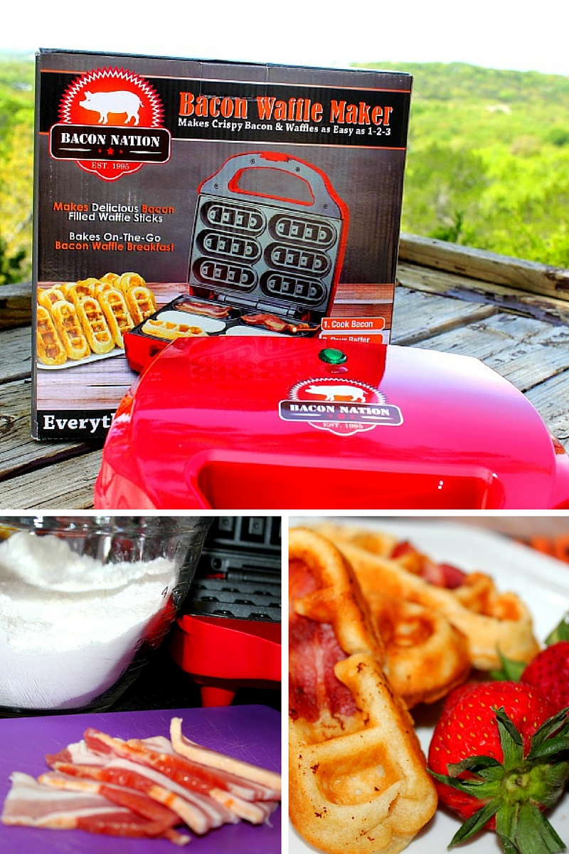 Bacon Waffle Maker from SmartPlanet Review