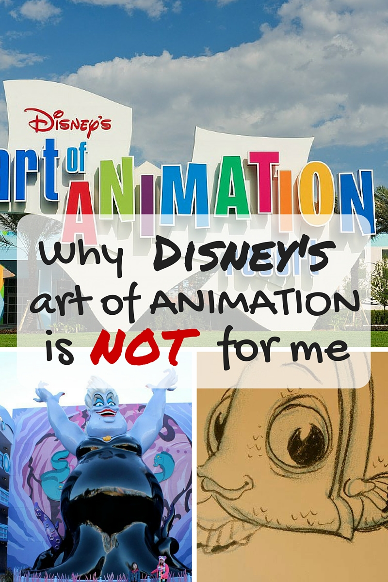 Why Disneys Art of Animation is Not For Me