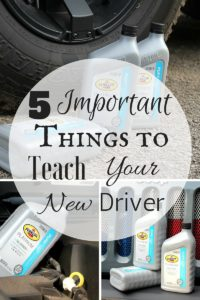 5 Important Things to Teach Your New Driver