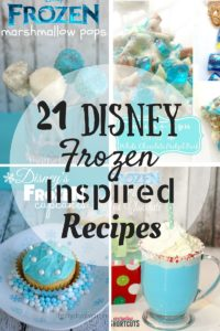 Disney Frozen Inspired Recipes