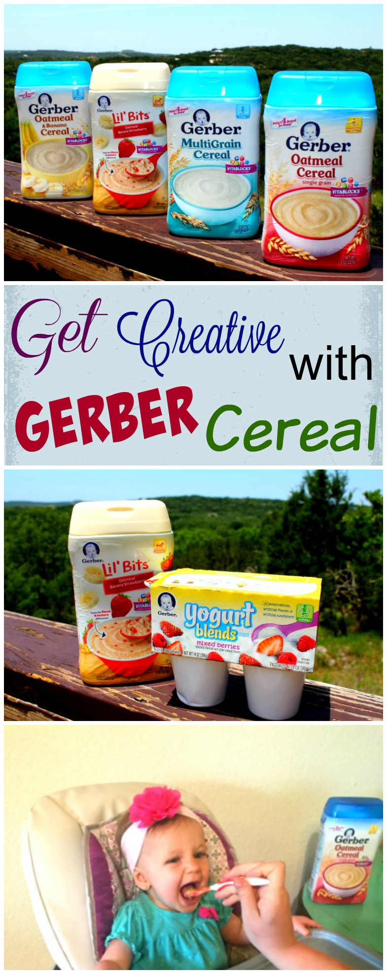 How to Get Creative With Gerber Cereal