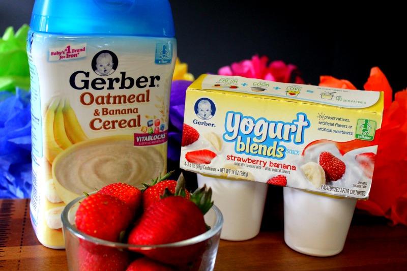 Strawberry Banana Yogurt Bites Ingredients