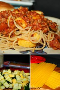 Kid Friendly Vegetable Spaghetti