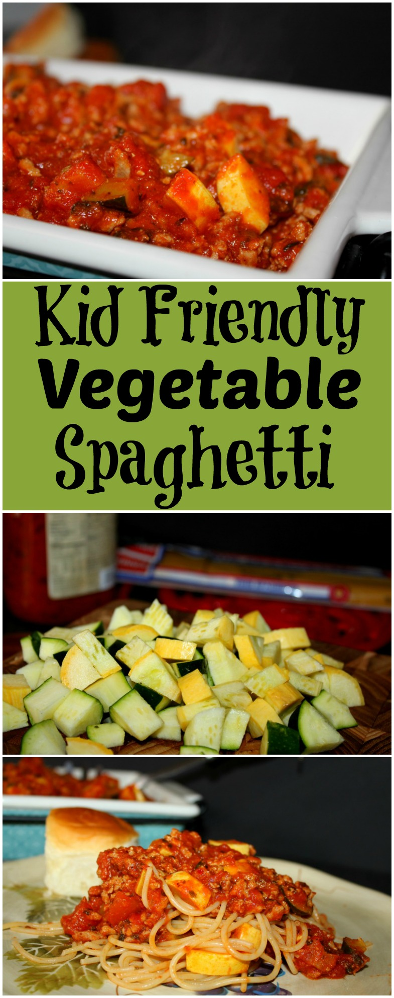 Vegetable Spaghetti Perfect for Kids Taste Buds