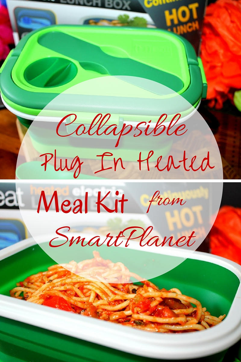 Collapsible Plug In Heated Meal Kit from SmartPlanet Review