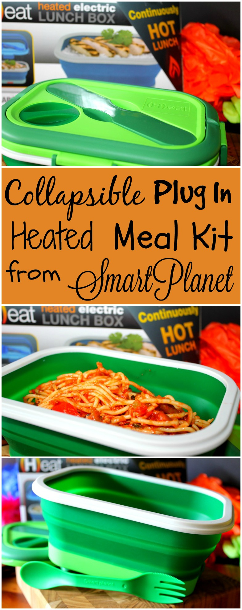 Collapsible Plug In Heated Meal Kit from SmartPlanet is Perfect for Lunch in the Office or on The Go in the Car