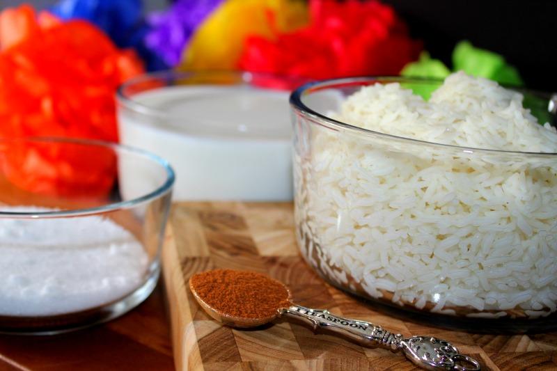Rice Pudding Ingredients