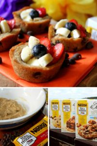 Cookie Fruit Cups