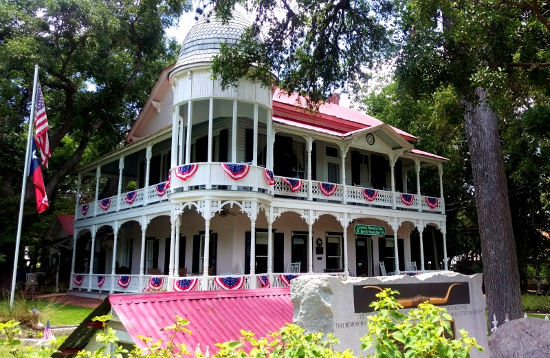 Gruene Mansion Inn Located in Gruene Texas