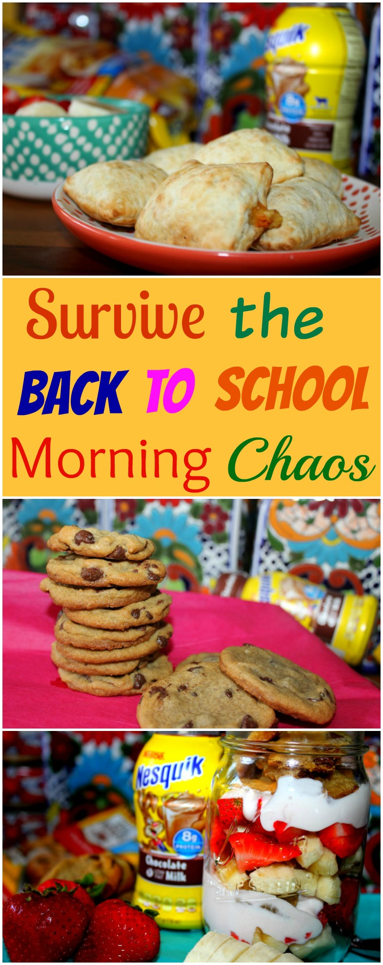 Survive the Back to School Morning Chaos Plus a Cookie Parfait Recipe