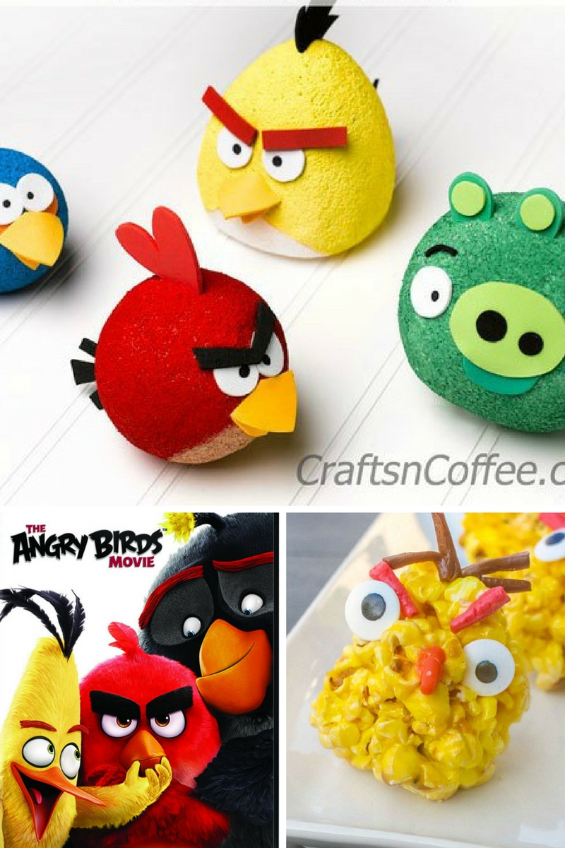 10 Awesome Angry Birds Crafts for Kids