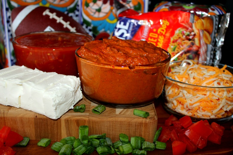 Ingredients for Layered Chili Dip