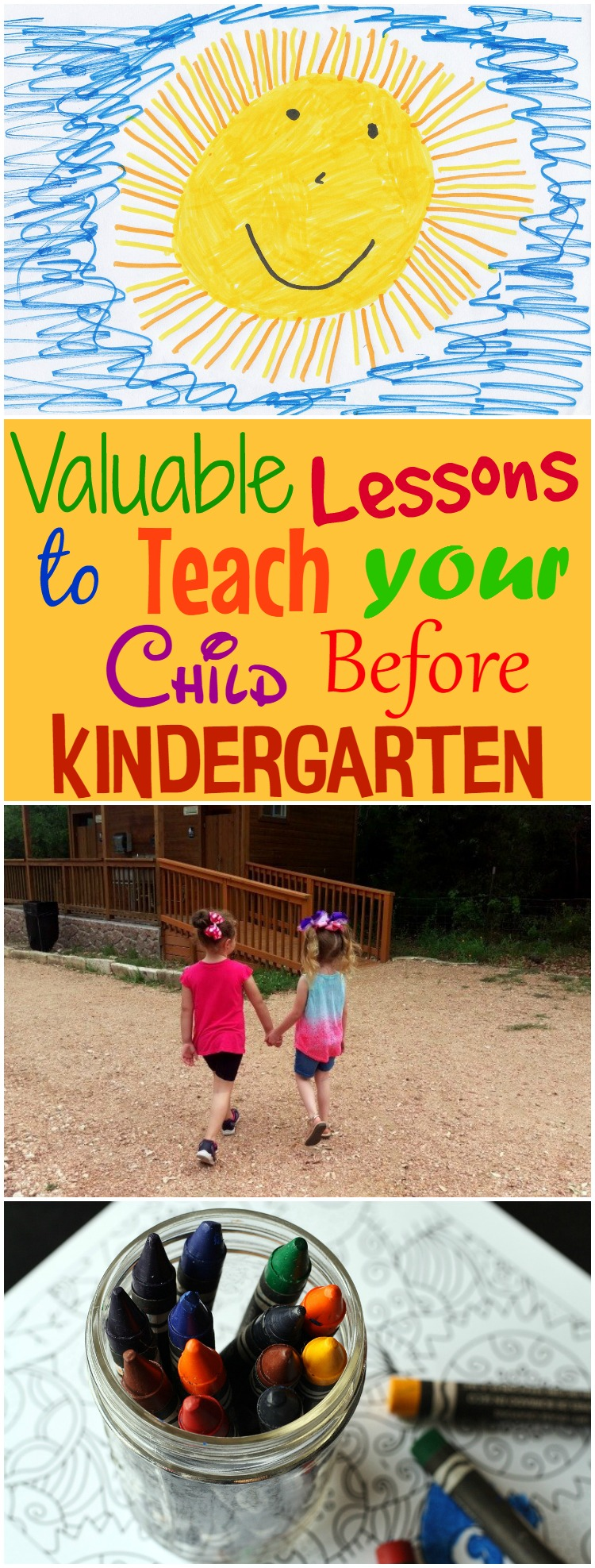 Valuable Lessons to Teach Your Child Before Kindergarten