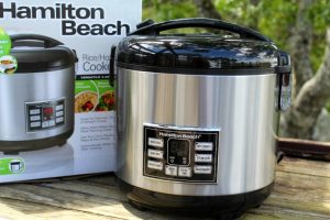 Hamilton Beach Rice and Hot Cereal Cooker Review