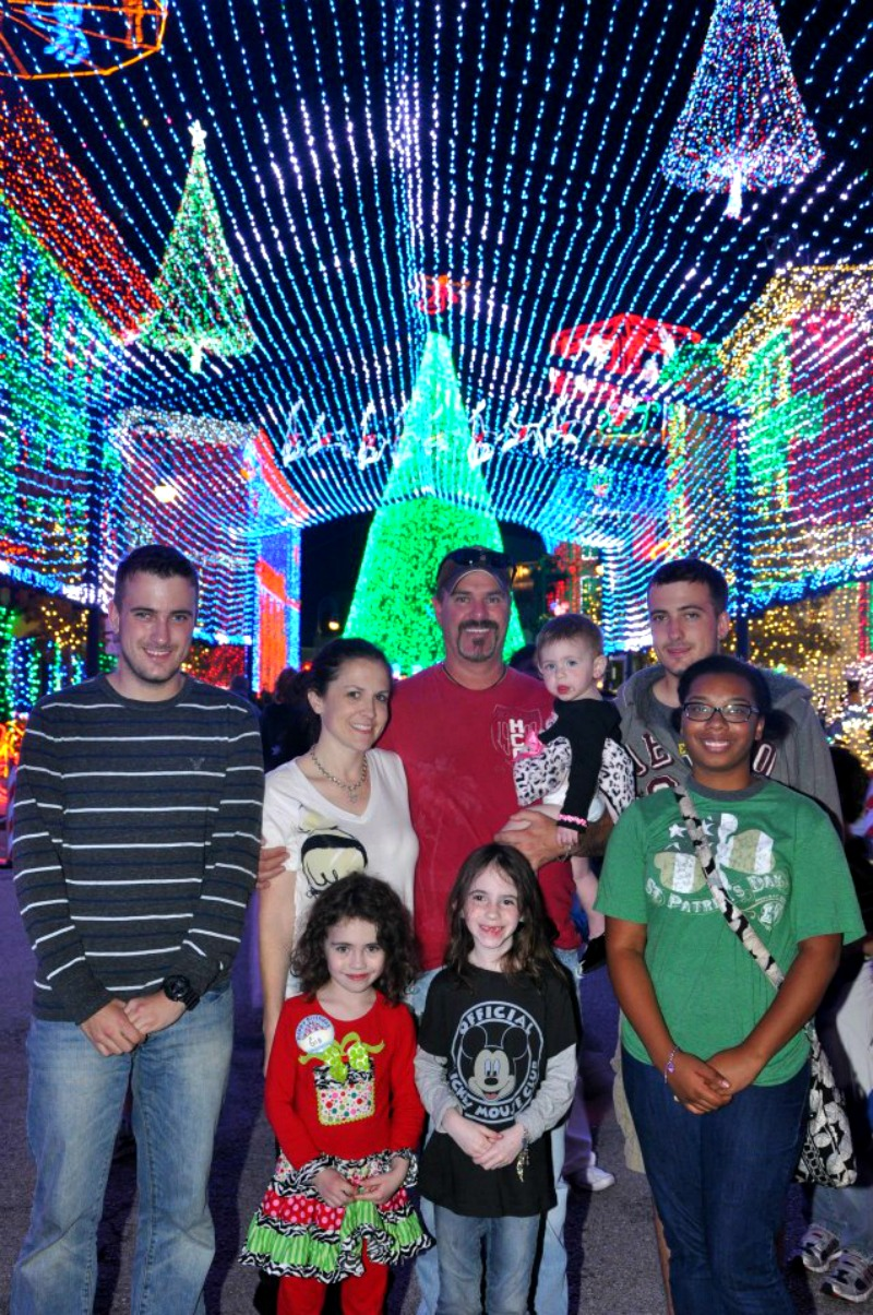 Christmas at Disney World in Florida