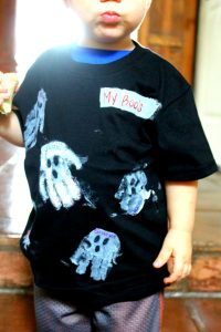 Fun DIY Halloween Shirt for Kids