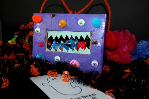 How to Make a Halloween Monster Boo Box
