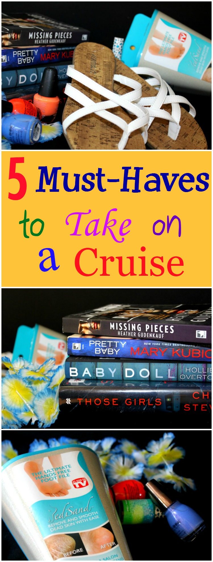 A list of a few things that you should take on a cruise