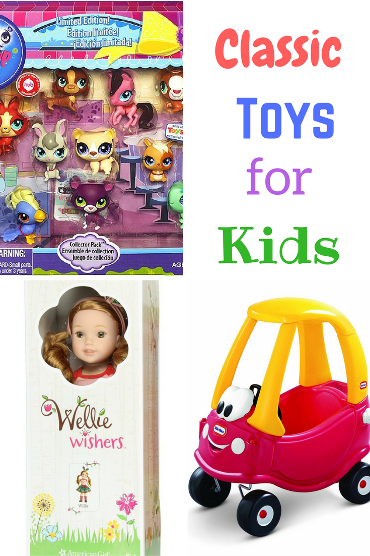 Classic toys for kids of all ages
