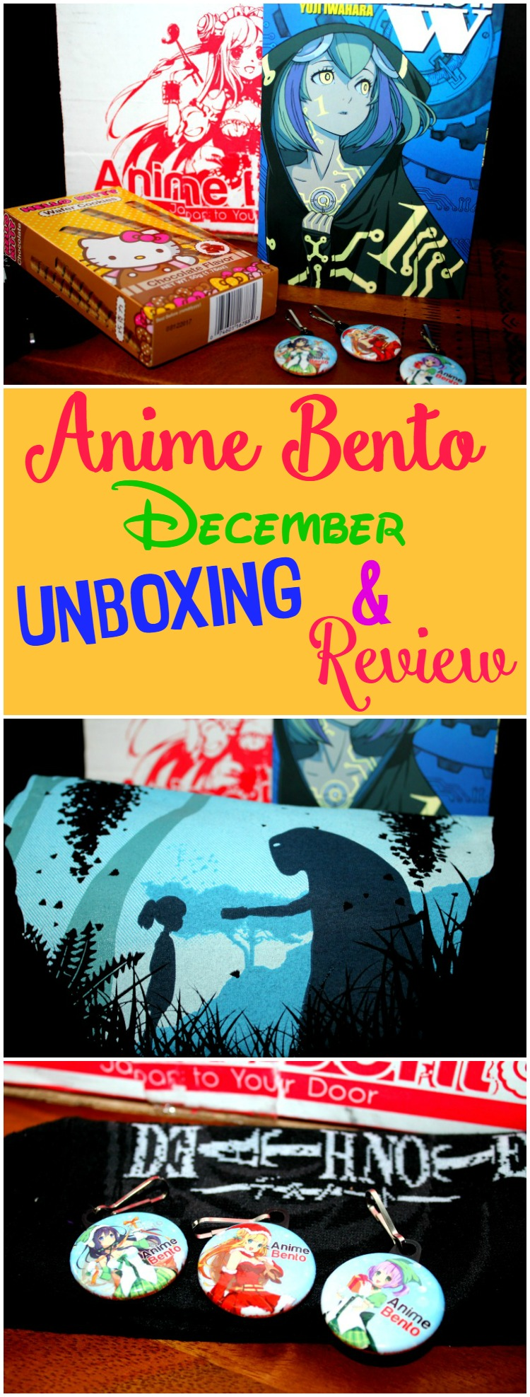 We received our first Anime Bento Subscription Box and can't wait to get our next one.