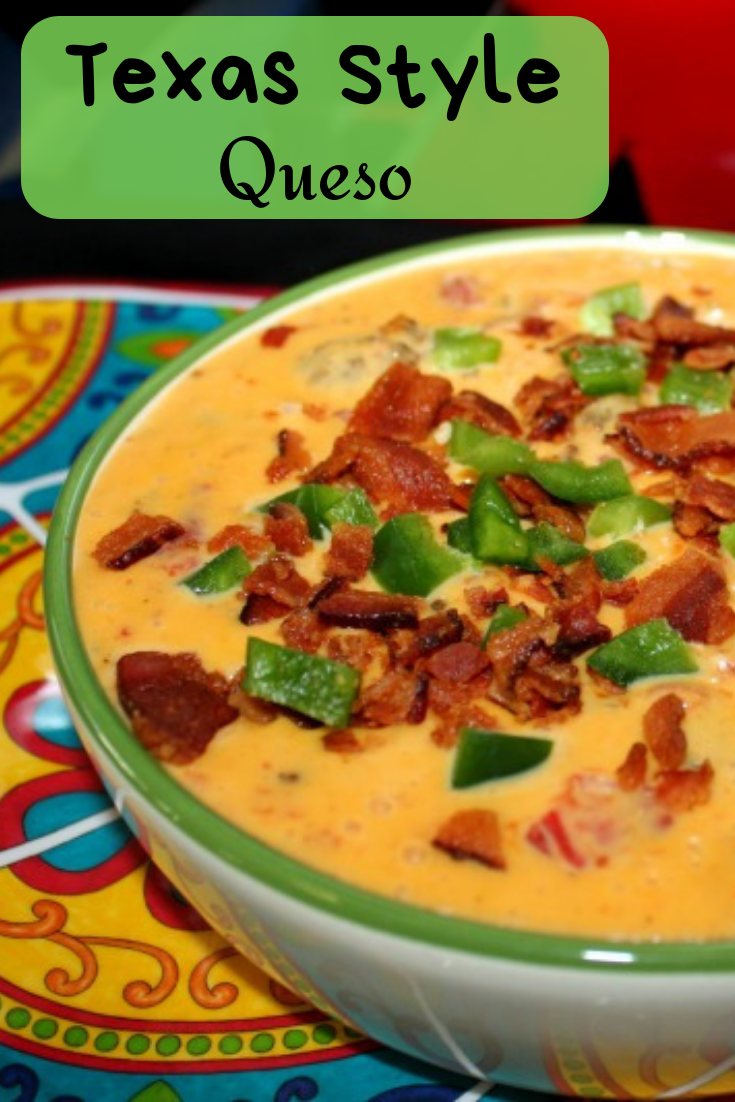 This Texas Style Queso is the perfect appetizer for gatherings, work parties, or movie nights. It's easy to make and tastes really good.