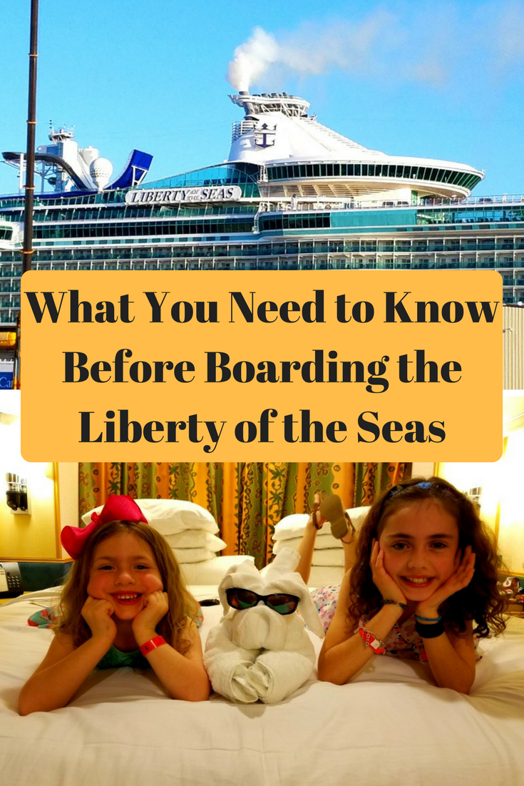 There is a lot know before you board the Liberty of the Seas on Royal Caribbean. Read these tips.