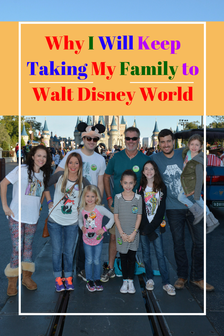 It's important for me to take my kids to Walt Disney World, and here is why: