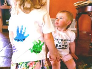 Handprint Friendship Shirt