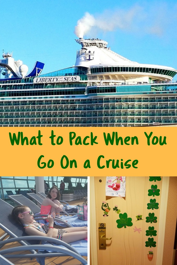 Here is a helpful list of what you need to pack when you go on a Liberty of the Seas cruise.
