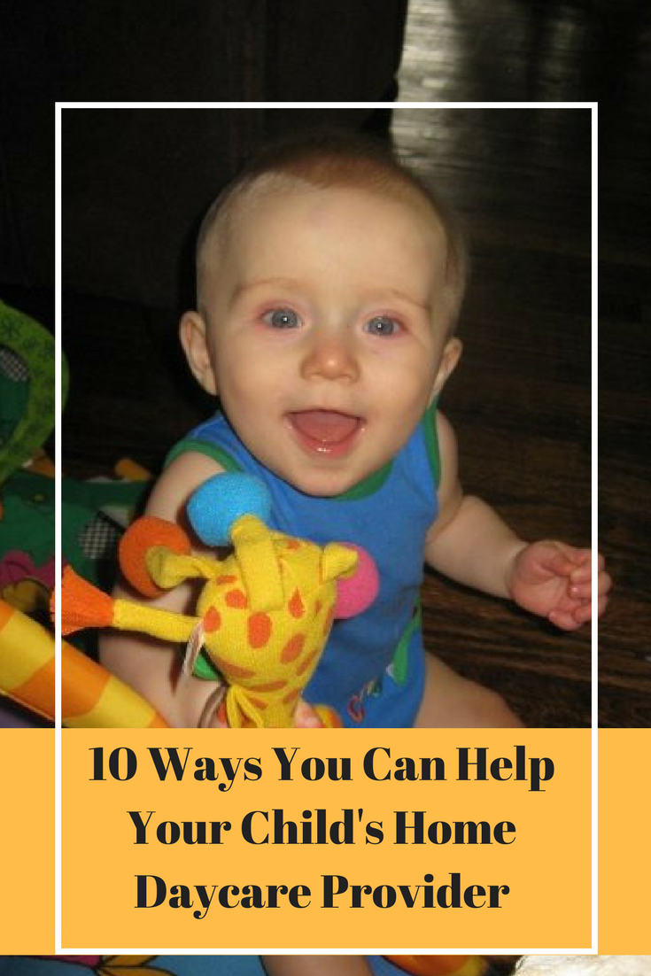 Sending your kids to daycare is hard, so make sure you know how you can help your home daycare provider.