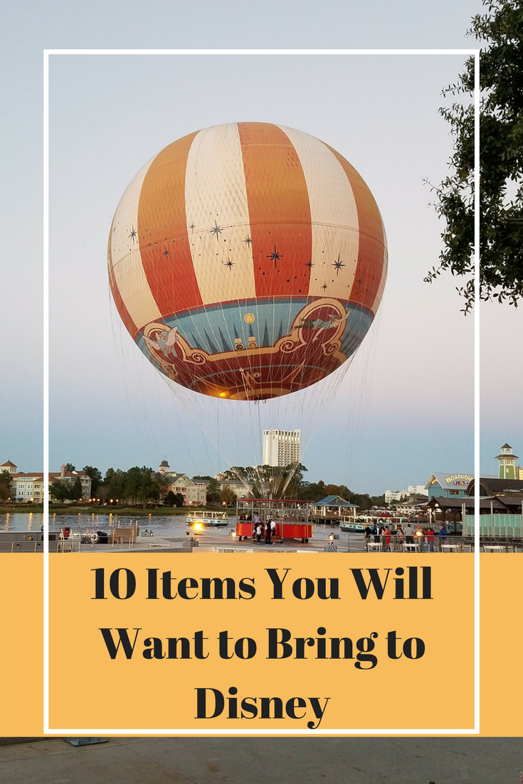 It's not fun to spend extra money while at Disney because you didn't pack something you ended up needing. Here is a helpful list of what to bring when at Disney.