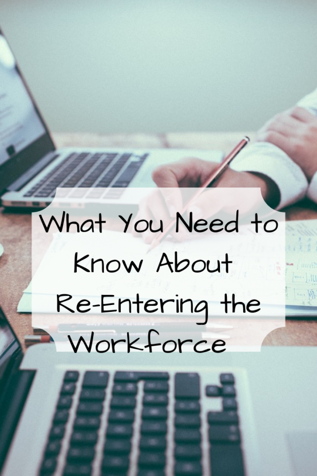 After leaving the corporate world for a period of time it can be extremely difficult, time-consuming, stressful and heartbreaking during your job search. Here is what you need to know about reentering the workforce.