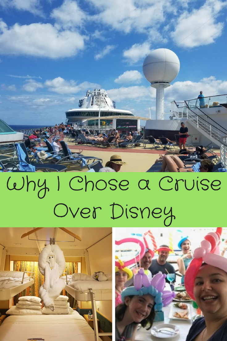 Our family always goes to Disney, but this year we went on a cruise! Ready why our family decided to go on a cruise and not Disney.