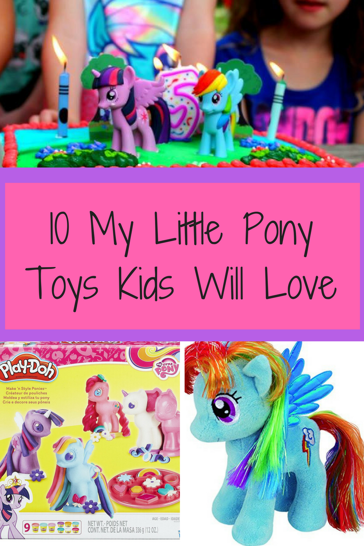 My Little Pony Toys are classic that kids can play with for hours. With the new My Little Pony movie coming out, here are some great My Little Pony Toys.