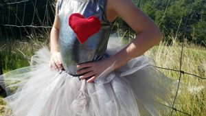 DIY Wizard of Oz Tin Man Costume for Girls