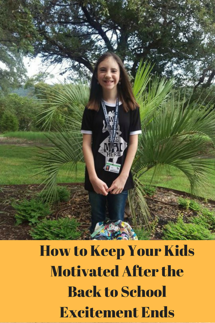 Back to school can be exhausting for kids. It's important to keep them motivated and here are some ways you can do that.
