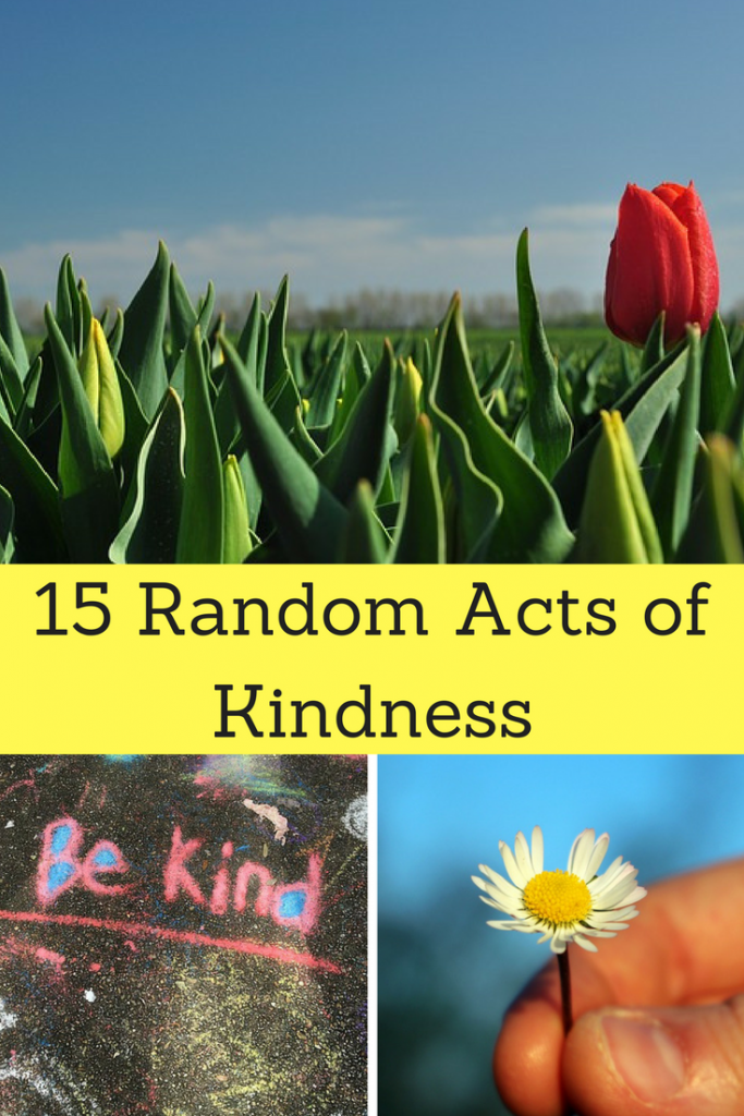 Giving back is fun. Here are great ways that you can do Random Acts of Kindness.