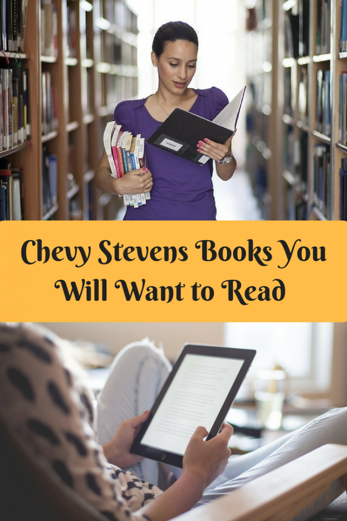 Chevy Stevens is my all time favorite author! Her edge of your seat books keep me waiting for her next published book. Here is a list of her books you should read.