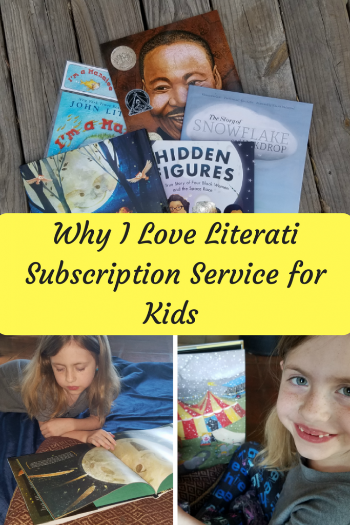 Literati Subscription Service for Kids promotes reading for kids of all ages. Read to find out how it works.