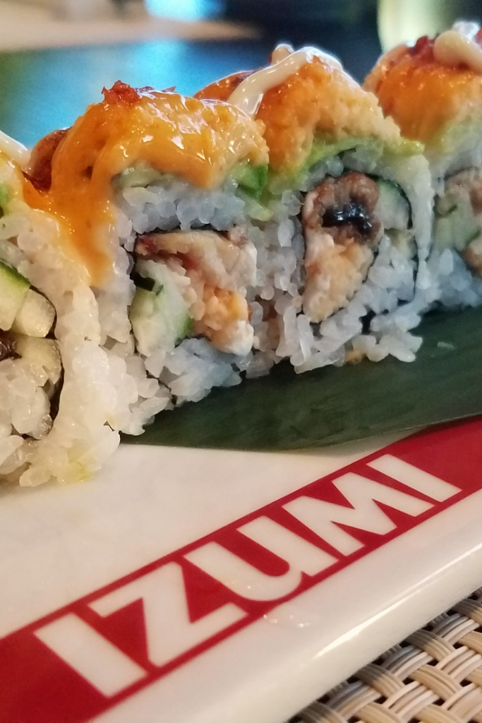 This is a hidden gem on Royal Caribbean's Navigator of the Seas. They are an amazing sushi restaurant that is worth making a reservation to.