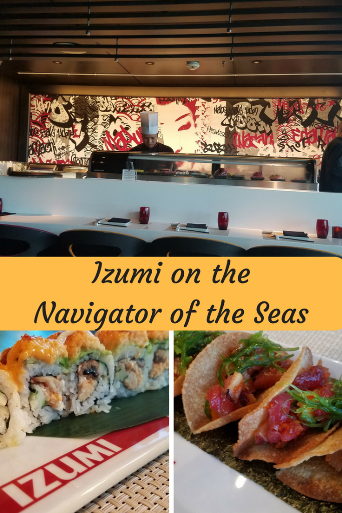 A Japanese restaurant on the Navigator of the Seas that not many people know about. Here is what you want to know.