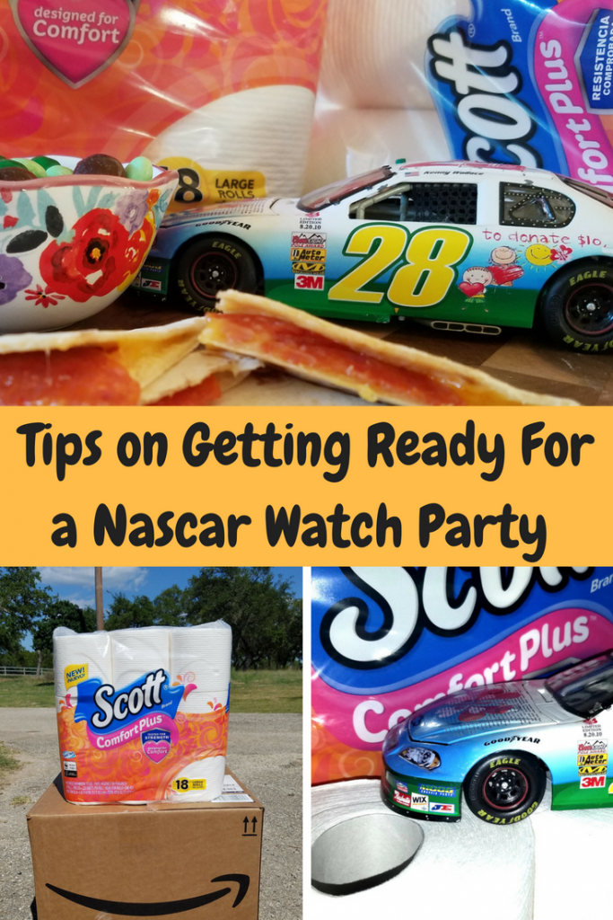 It's racing season, so why not have a Nascar watching party. Here are some great tips to get ready.