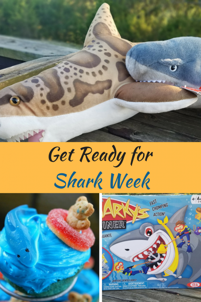 There are a lot of ways to get ready for Shark Week. Here are a few.