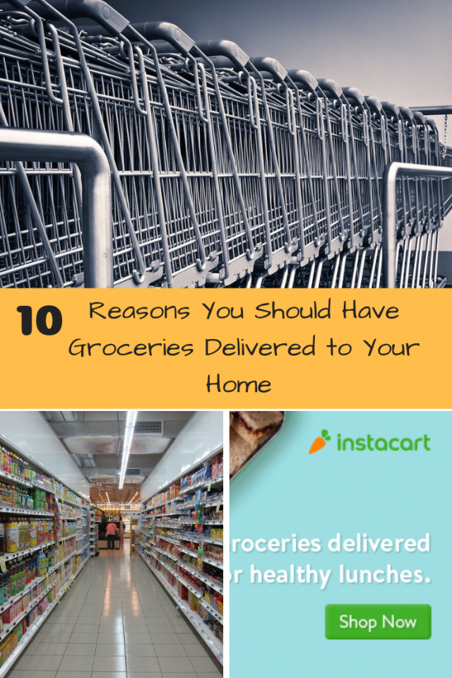Have you ever had groceries delivered to your home? If you have not, then you need to look at Instacart. They will save you time and stress.