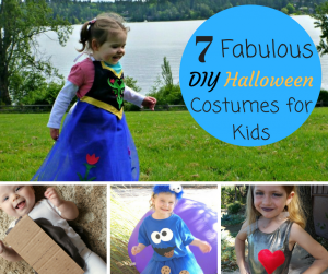 7 Fabulous DIY Halloween Costumes for Kids
