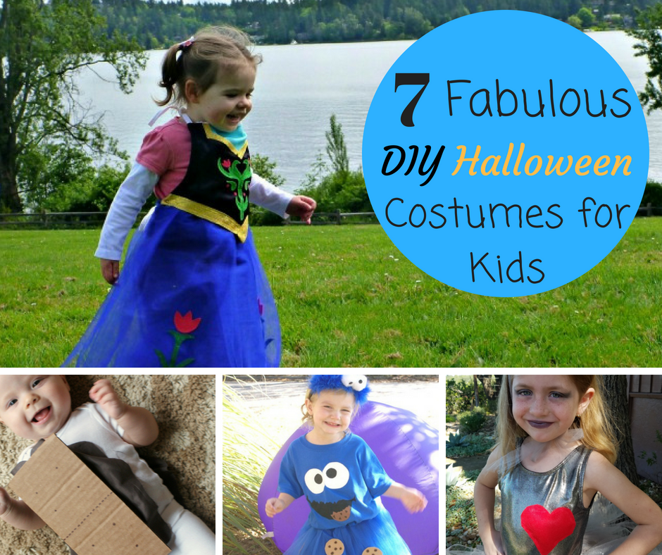 7 Fabulous DIY Halloween Costumes for Kids - House of Fauci's